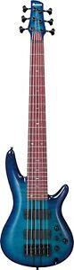 IBANEZ Adam Nitti Signature ANB306 E-Bass 6 String + Bag