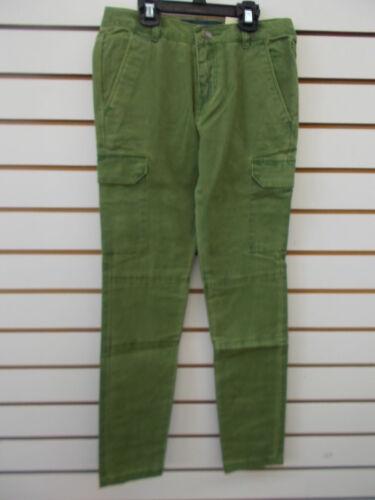 Girls Tommy Hilfilger $45.50 Green Skinny Fit Cargo Jeans Size 10-12