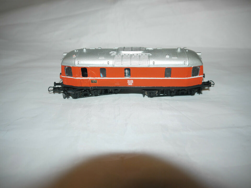 Reserveret ; Togdillen SB ( Skagensbanen) M 8 l...
