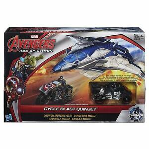NEW-MARVEL-AVENGERS-AGE-OF-ULTRON-CYCLE-BLAST-QUINJET-VEHICLE-FIGURE-SET-B0425