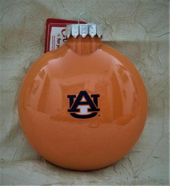 Auburn University Glass Christmas Ornament Sports Holiday ...