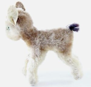 Vintage-Zicky-Goat-Steiff-4-ca-1960s-NO-button-or-Tag