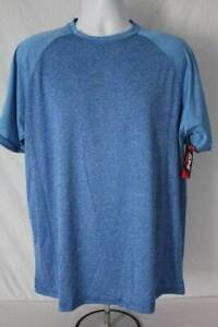 Mens Silky Athletic T Shirt Size Large Active Wear Sports Running Casual Wicking