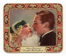 Douglas Fairbanks Jr Mary Duncan 1934 Garbaty Film Star Ser 2 Cigarette Card 290