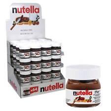 Nutella Mini Gläser 24 x 25g ideal als Mitgebsel oder Adventskalender
