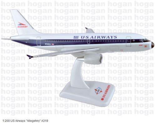 "Hogan Wings 3602G US Airways /""Allegehny/"" Airbus A319 Retro Series 1:200"