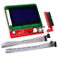 KOOKYE-LCD-12864-Graphic-Smart-Display-Controller-Module-with-Connector-Adapter miniature 1