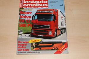 Setra S 431 Lastauto Omnibus 07/2002 Spezieller Kauf Volvo Fh 12 Haben Sie Einen Fragenden Verstand 71727