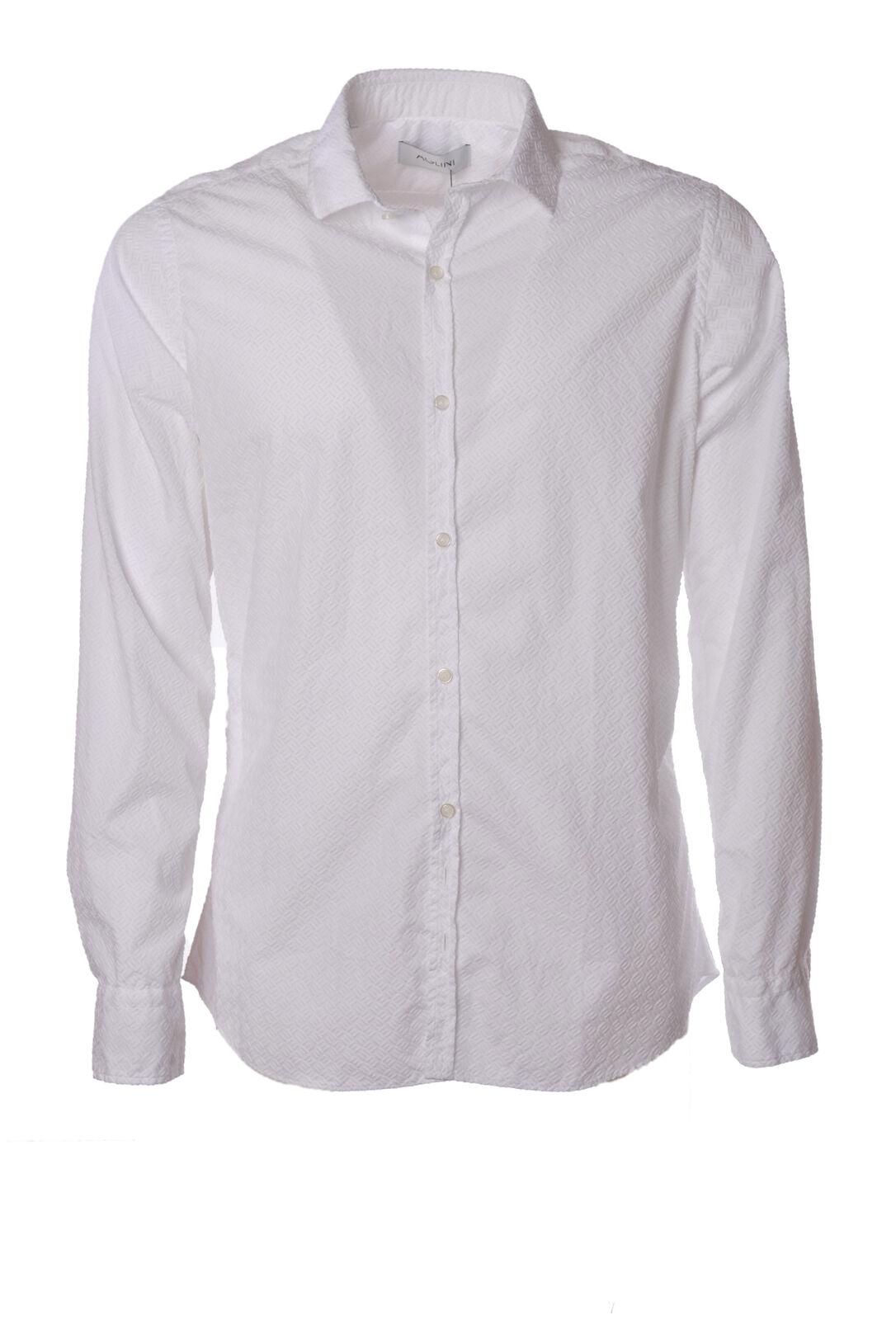 Aglini  -  Shirts - Male - Weiß - 2364125N174048