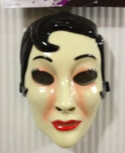 the strangers emo girl mask prop replica halloween