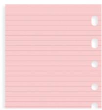 Pink Notepaper Planner Refill Insert Fits Louis Vuitton Pm Agenda Organizer