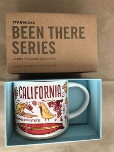 Starbucks Coffee Been There Series 14oz Mug CALIFORNIA Cup w/SKU
