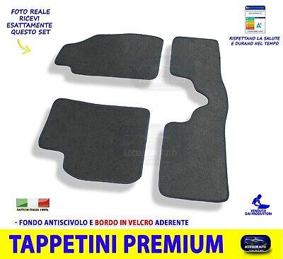 Tappetini pianale 3 Pezzi Antiscivolo Moquette Alta Qualit/á 1000g//m/² 1765666 Finitura Velluto Gamma Luxe DBS Tappetini Auto su Misura