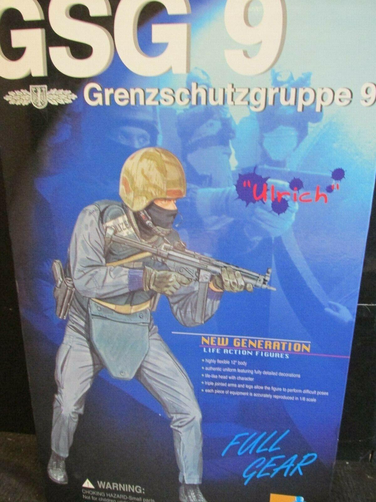 Dragon Side show 1 6TH scale figures GSG 9 Grenzschutzgruppe 9  ULRICH