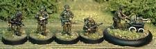 TQD PP4 20mm Diecast WWII Polish Paratroopers in Helmets w Pram