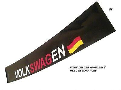 Compare to Volkswagen Windshield Decal Banner Car Sticker SunVisor GTI Jetta