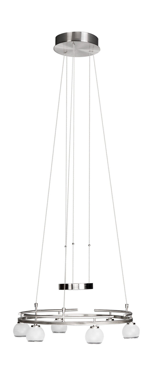40656 / 17/10 a 6 lumière chrome contemporain plafonnier nuances élégant avec des nuances plafonnier da1dbe