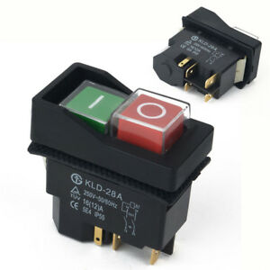 KLD28A-5-Pin-Cement-Concrete-Mixer-ON-OFF-Switch-Minimix-Electric-Spares-Part-FT