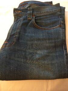 Nudie-Men-039-s-Slim-Fit-Blue-Jeans-29-Inch-Waist