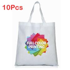 38cmx40cm Blank Dye Sublimation Shopping Bag Large For Heat Press Machine 10pcs