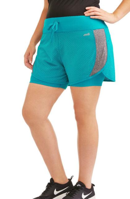 78b4acb680e Avia Women s Perforated FlyAway Running Short W  Built in Compression Short -S L