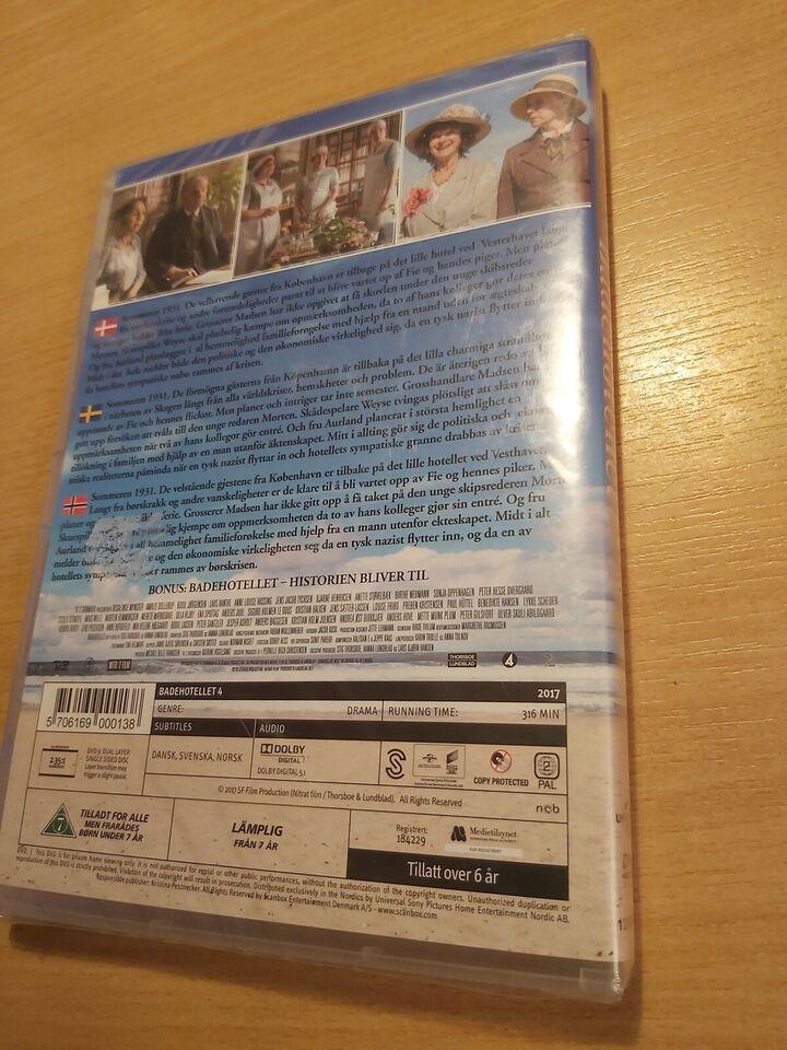 Badehotellet, DVD, drama