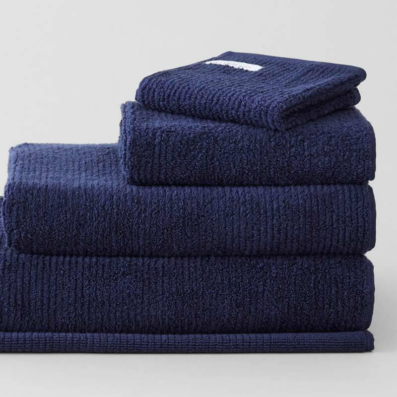 New SHERIDAN Trenton 670GSM Cotton Bath Towel Range ROYAL BLUE
