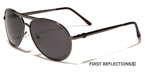 S-M Khan Premium POLARIZED Fishing Men Women Round Retro Aviator Sunglasses