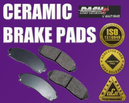 BRAND NEW SET OF CERAMIC BRAKE PADS 4 FRONT BRAKE PADS