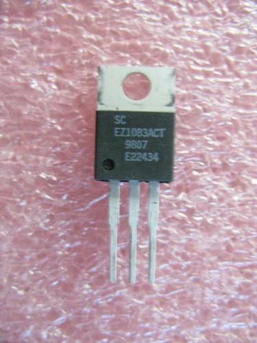 SEMTECH 7.5A ADJ LDO Regulator EZ1083ACT TO-220 Qty.5