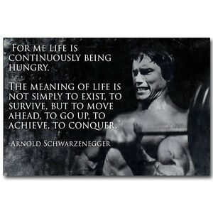 arnold schwarzenegger bodybuilding motivational quotes