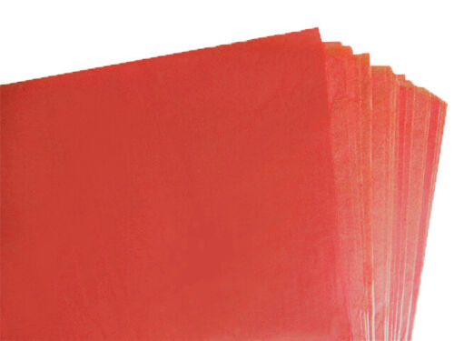 50 X SHEETS OF BURGUNDY COLOURED ACID FREE TISSUE PAPER 375mm x 500mm//QUALITY