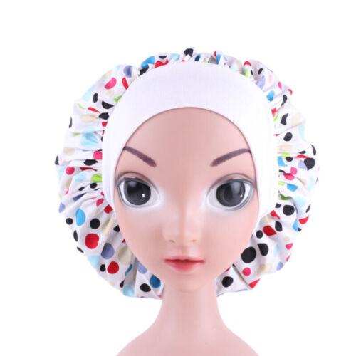 Night Sleep Cap Kids Girls Headwrap Cover Bonnet Hat Hair Care Chemo Cap Elastic