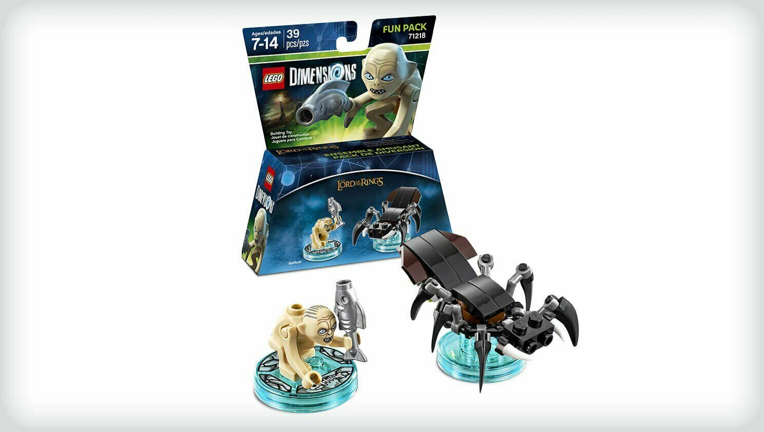 LEGO Dimensions 71218 Lord Of The Rings Gollum Fun Pack NEW & SEALED
