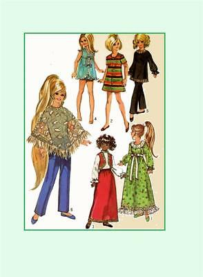"15.5/"" Velvet Cricket Dina Mia Tara dolls by ideal 9138 Doll Clothing Pattern"
