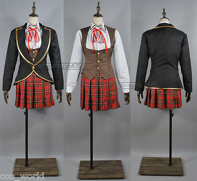 RWBY Ruby/Weiss/Blake/Yang School Uniforms Cosplay Costume All Equipment