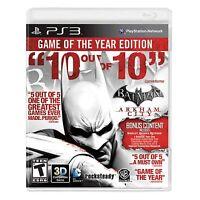 Batman: Arkham City - Game Of The Year Edition (sony Playstation 3, 2012)