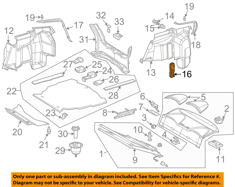 01 07 Mercedes Benz C240 Rear Trunk Fusebox W Luggage Foam Cover 2003 Clk500 Fuse Box Norton Secured Powered By Verisign