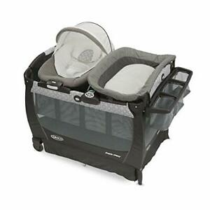Graco Baby Pack 'n Play Snuggle Suite LX - Crib Bassinet Bouncer...