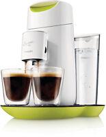 Kaffeemaschine Senseo Twist Hd7870/10 Weiß Limette