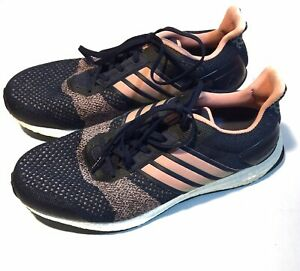 ULTRA BOOST ST Navy Blue Pink Size