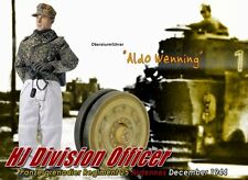 "Dragon 1/6 Scale 12"" WWII German 1944 HJ Division Officer Aldo Wenning 70565"