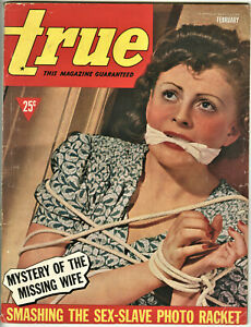 True Magazine: February 1940 - Pulp, Sex, Crime, Old Man's Darling, Murder