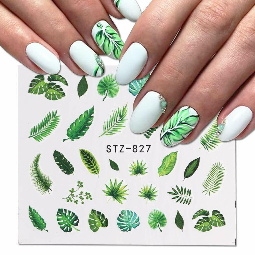 Palm Trees Waterslide Nail Decals Nail Art For Sale Ebay