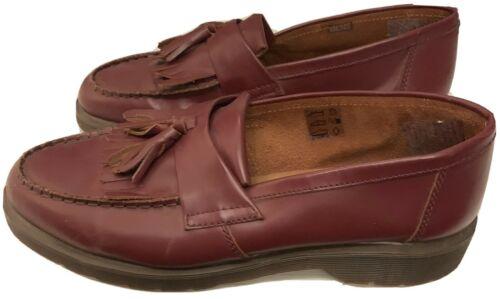 DR MARTENS Skinhead Leather ADRIAN Loafers Oxblood