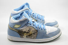 Nike Air Jordan 1 Retro Alpha DS white University Blue Size 8.5 - 316269-142