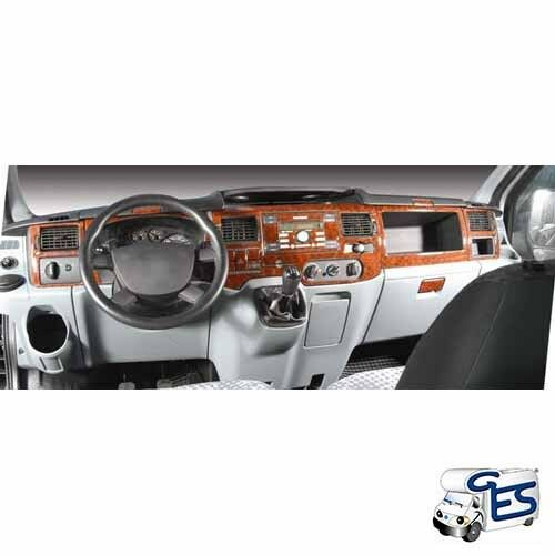 CRU201 Mascherine Sagomate Rivestimento Cruscotto Camper Ford Transit 12 pz RN