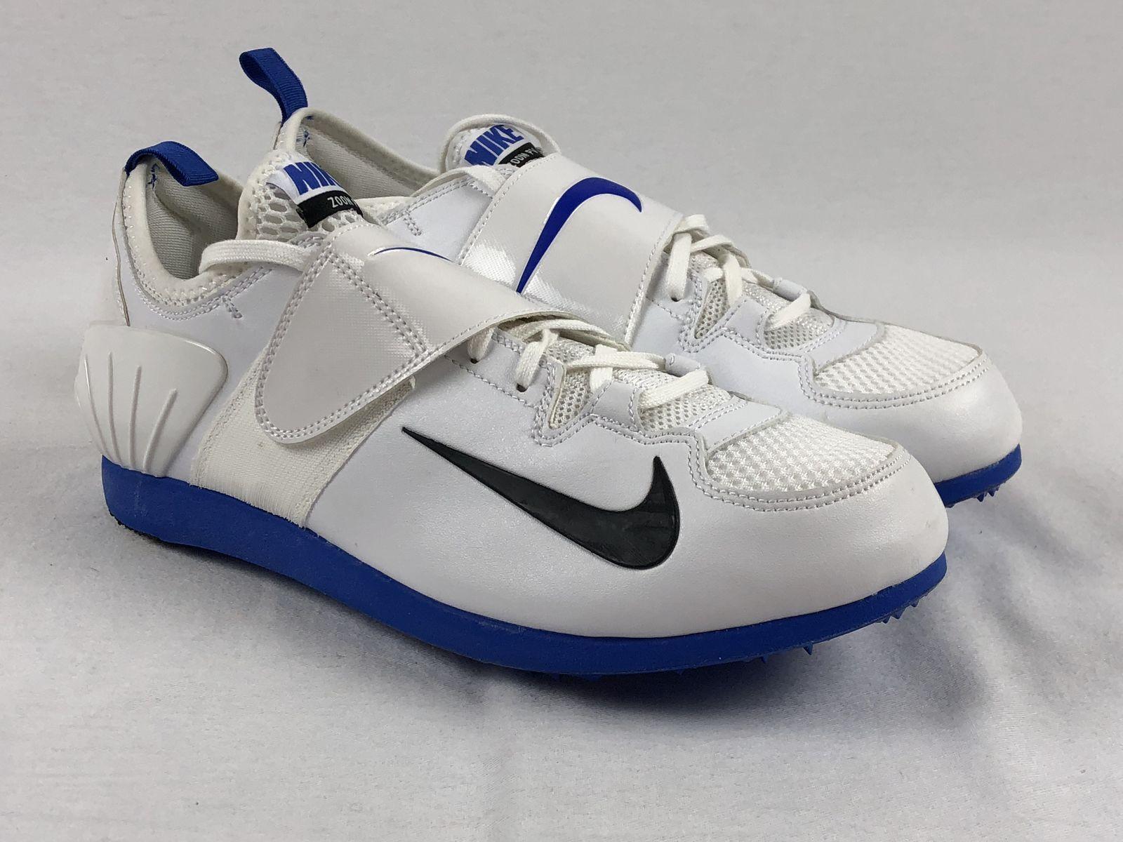 NEW Nike Zoom PV II - White Cleats (Men's 12.5)