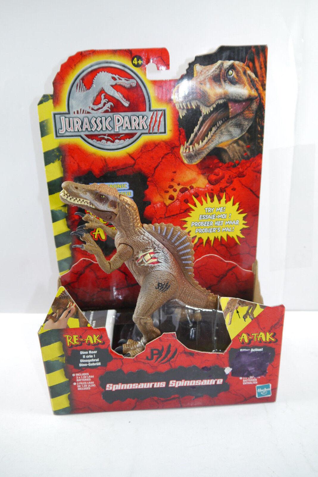 Jurassic Parco (III) Electonic Spinosauro Nuovo Conf. Orig. circa 16cm Hasbro