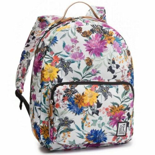 The Pack Society BACKPACK COOL PRINTS Multicolor Flower Allover Rucksack Daypack